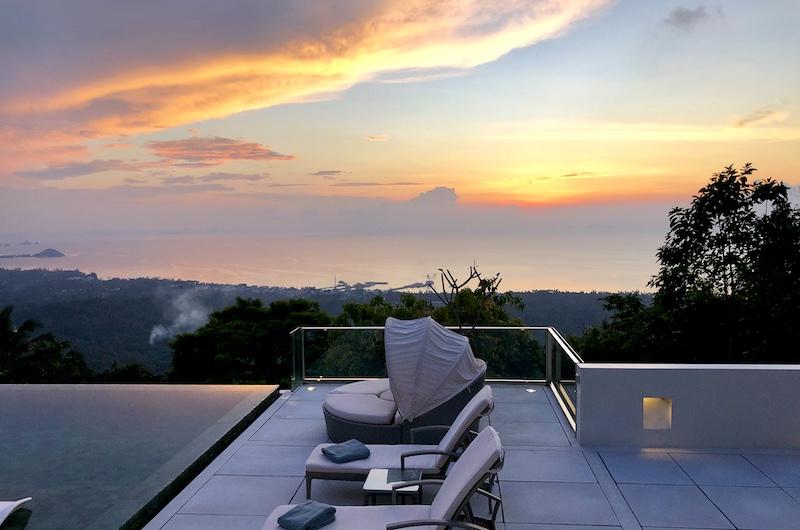 Koh Samui Nathon Villa Zest Sunset