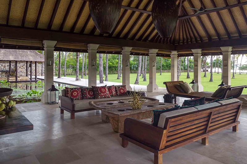 Sira Beach House Open Plan Living Area | Lombok, Indonesia