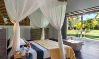 Sira Beach House Bedroom with Garden View | Lombok, Indonesia