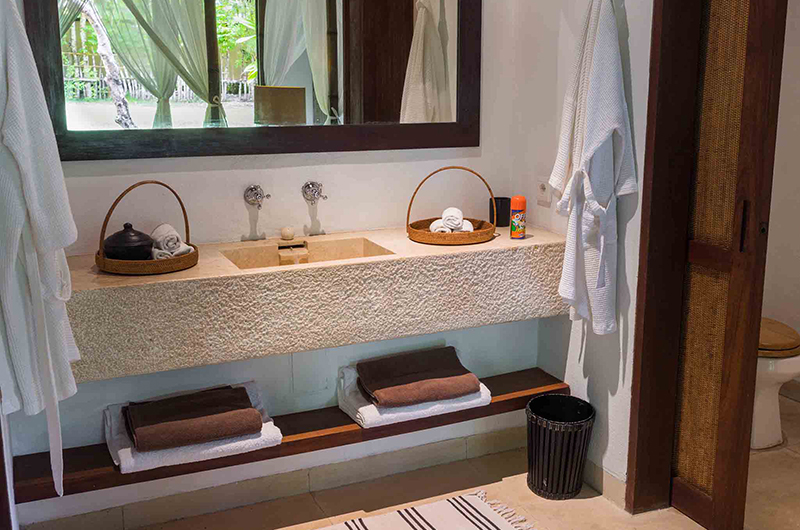 Sira Beach House Bathroom Area | Lombok, Indonesia