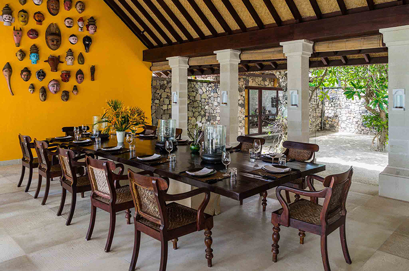 Sira Beach House Dining Area | Lombok, Indonesia