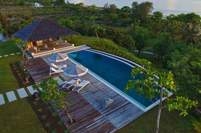 Villa Selalu Exterior Area | Gili Gede, Lombok