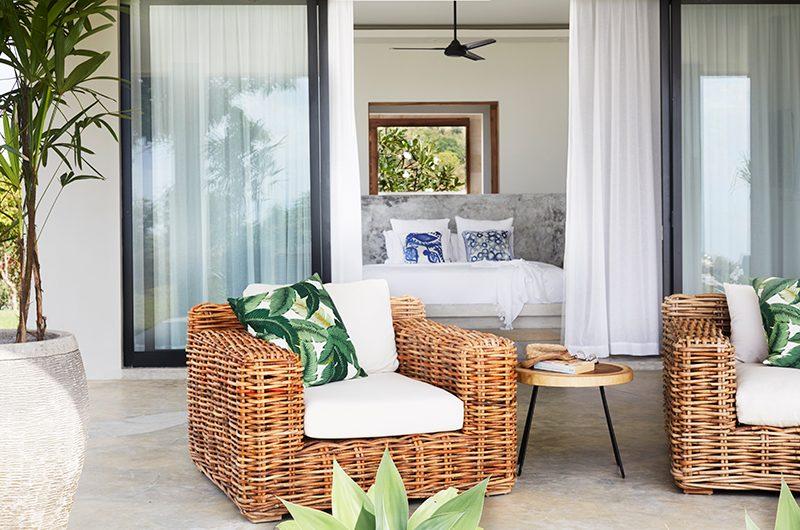 Villa Selalu Balcony with Chair | Gili Gede, Lombok