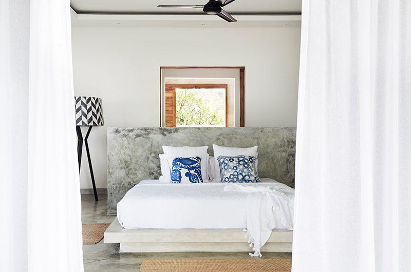 Villa Selalu Bedroom with Lamp | Gili Gede, Lombok