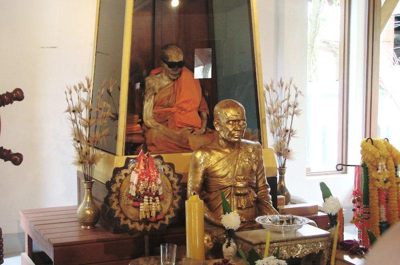 Mummified Monk   Koh Samui, Thailand