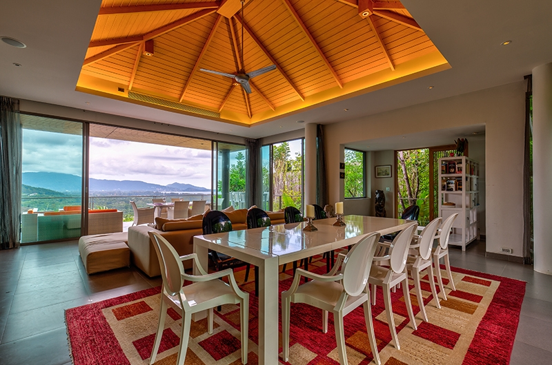 Villa La Colline Dining Table | Layan, Phuket