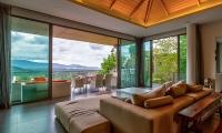 Villa La Colline Living Area | Layan, Phuket