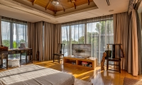 Villa La Colline Bedroom with TV | Layan, Phuket