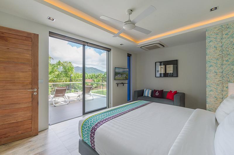 Villa Pablo Bedroom with Balcony | Bang Tao, Phuket
