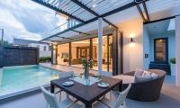 Villa Pablo Outside Dining Area | Bang Tao, Phuket