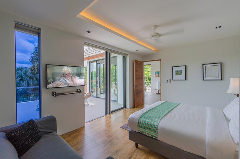 Villa Paloma Phuket Bedroom with TV | Bang Tao, Phuket