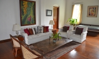 Glenross Plantation Villa Living Room | Kalutara, Sri Lanka