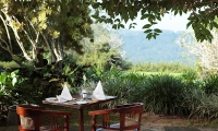 Glenross Plantation Villa Outside Table | Kalutara, Sri Lanka
