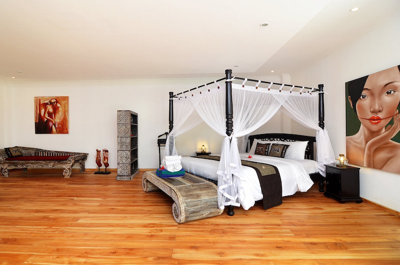 Candi Kecil Empat Spacious Bedroom Side | Ubud, Bali