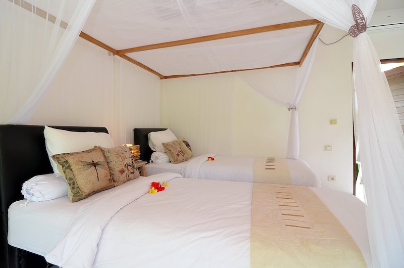 Candi Kecil Empat Single Beds   Ubud, Bali