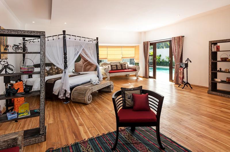 Candi Kecil Empat Master Bedroom with Seating | Ubud, Bali