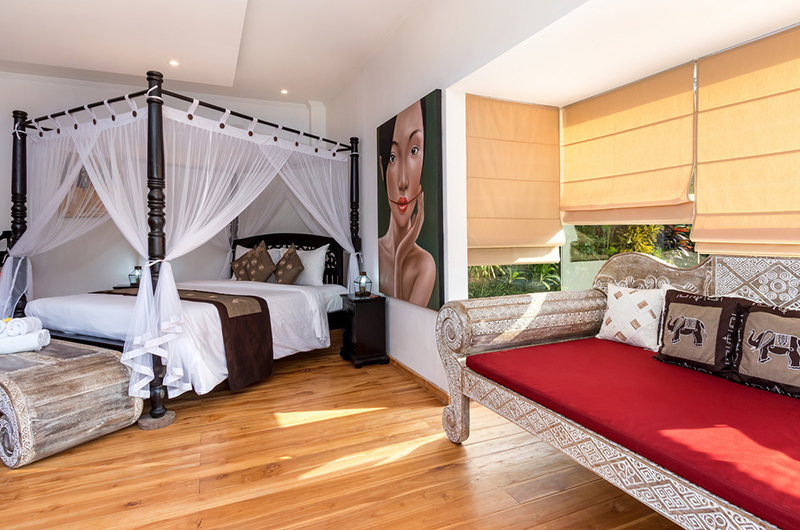 Candi Kecil Empat Master Bedroom Area | Ubud, Bali