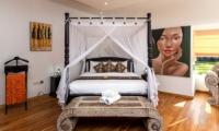 Candi Kecil Empat Master Bedroom | Ubud, Bali