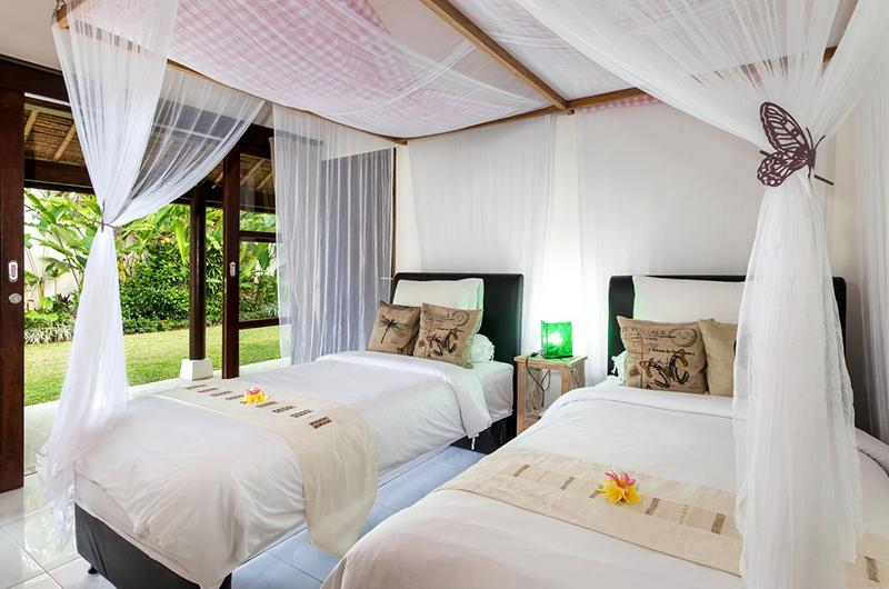 Candi Kecil Empat Twin Bedroom Area | Ubud, Bali