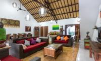 Candi Kecil Empat Living Area | Ubud, Bali