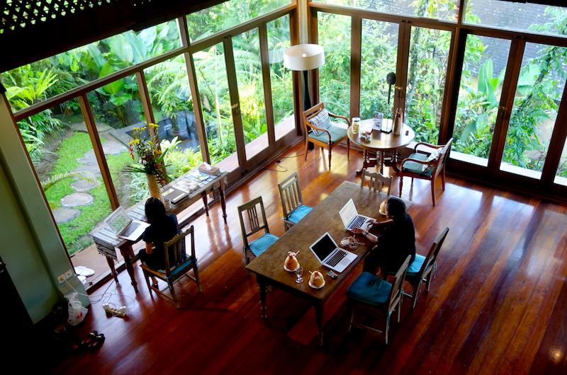 Bali Ubud Villa Samaki Living Room