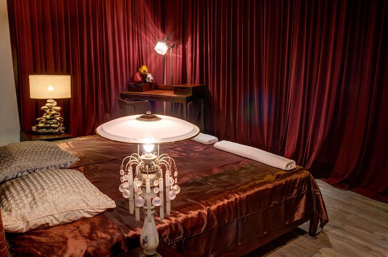 Villa Gita Segara Bedroom with Lamps | Candidasa, Bali