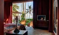 Villa Gita Segara Bedroom with TV | Candidasa, Bali
