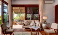 Villa Gita Segara Indoor Seating | Candidasa, Bali