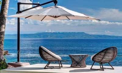 Villa Gita Segara Seating | Candidasa, Bali
