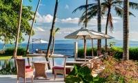 Villa Gita Segara Outdoor Dining Area | Candidasa, Bali