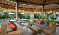 Villa Jabali Seating Area | Seminyak, Bali