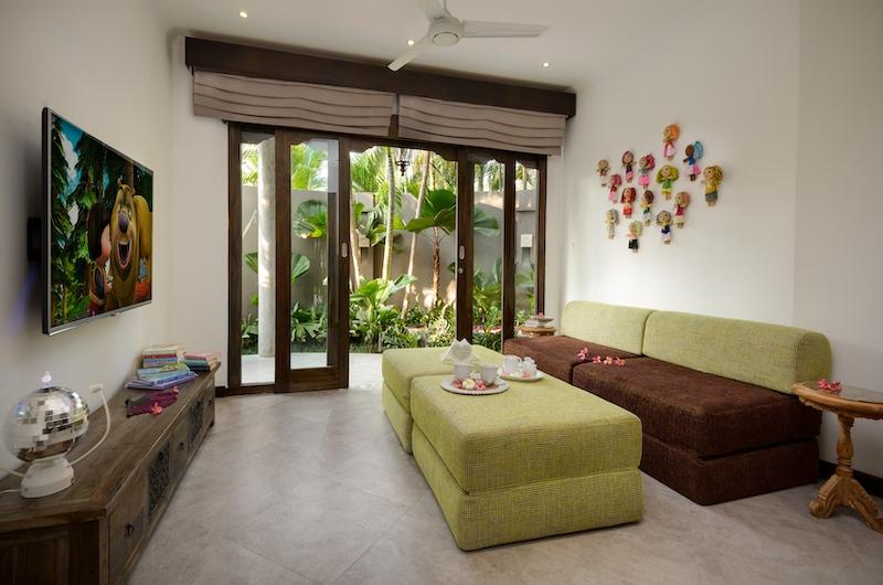 Villa Jabali Media Area | Seminyak, Bali