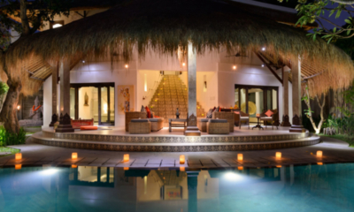Villa Jabali Pool with Night View | Seminyak, Bali