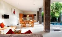 Villa Ruandra Open Plan Dining Area | Seminyak, Bali
