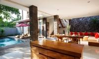 Villa Ruandra Open Plan Living Area | Seminyak, Bali