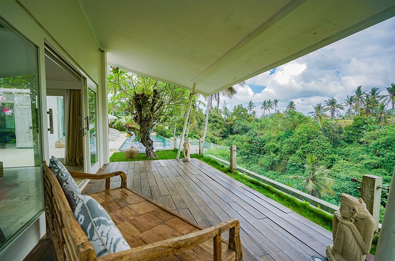 Villa Santai Ubud Seating with Forest View | Ubud, Bali