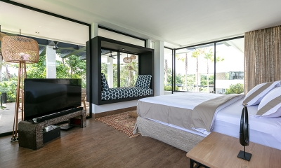 Villa Sapta Bayu Bedroom with Seating | Canggu, Bali