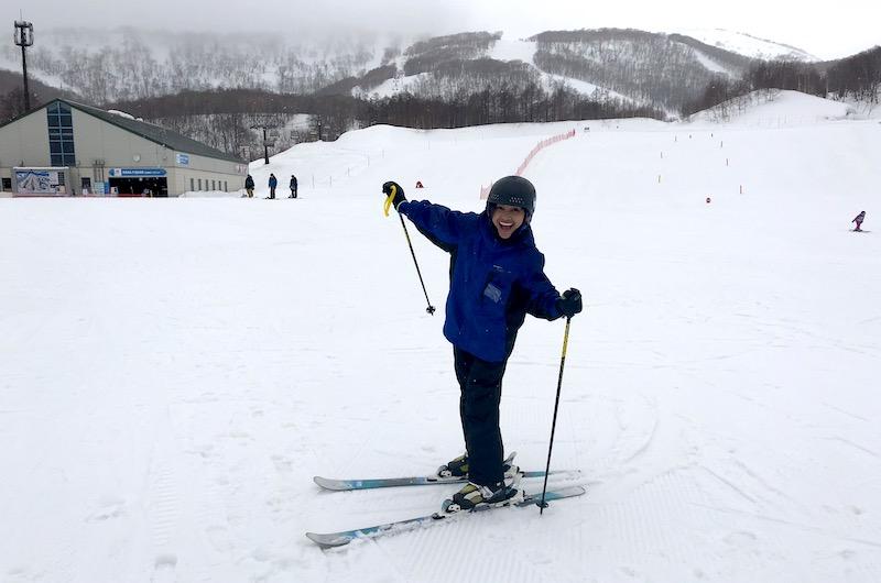 Japan Niseko Hanazono Skiing