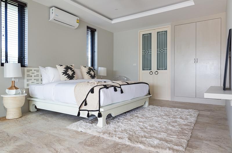 Villa Saam Bedroom One | Choeng Mon, Koh Samui