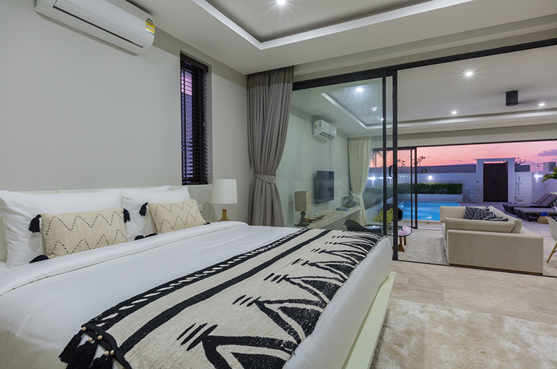 Villa Saam Bedroom | Choeng Mon, Koh Samui