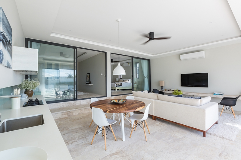 Villa Saam Living Area | Choeng Mon, Koh Samui