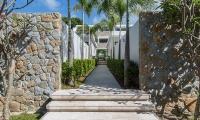 Villa See Entrance | Choeng Mon, Koh Samui