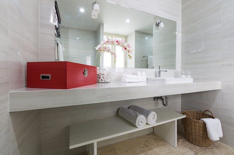 Villa See Bathroom | Choeng Mon, Koh Samui