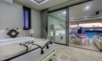 Villa See Bedroom with Pool View | Choeng Mon, Koh Samui