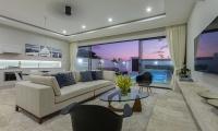 Villa See Living Area | Choeng Mon, Koh Samui