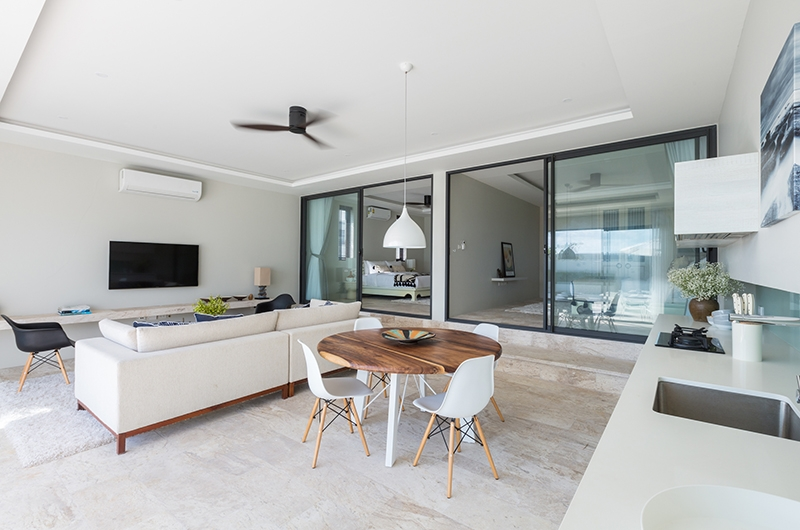 Villa See Living Room | Choeng Mon, Koh Samui