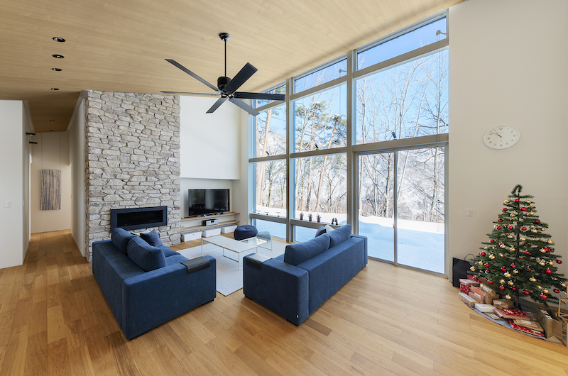 Sakka Rocks Living Room | Hakuba, Nagano