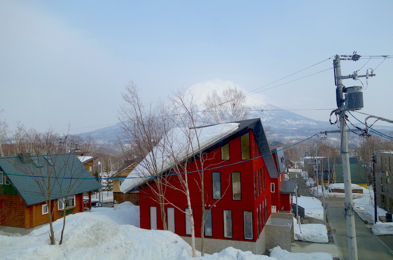 Niseko Kitsune House View