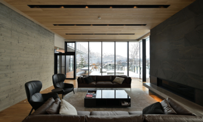 Tsudoi Open Plan Living Area | Hirafu, Niseko