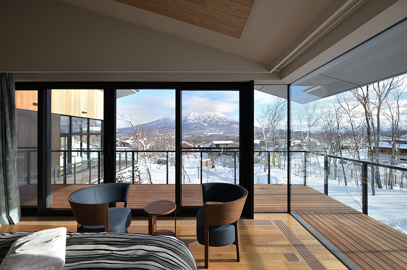 Tsudoi Bedroom with Balcony | Hirafu, Niseko